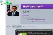 Wiz uses obama as avatar