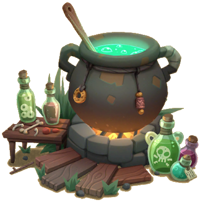 Witches Cauldron Game