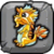 Leap Year Dragon Baby Icon
