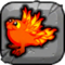 Flammendrache Baby Icon