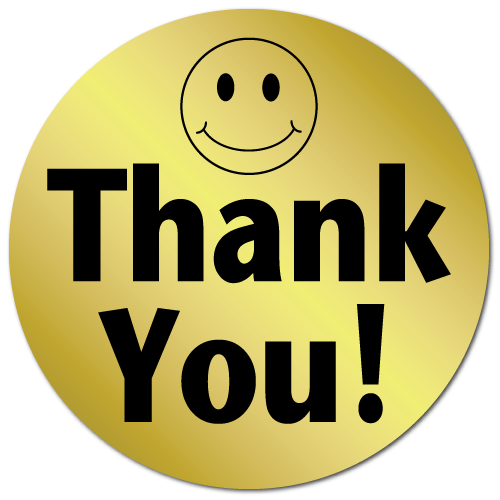 Image 72464 thank you smiley face gold foil stickers and labels 72464 thank you smiley face gold foil stickers and labelsg voltagebd Image collections