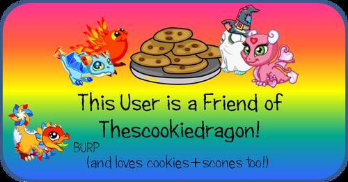 DV Wiki Scookie Friend Badge