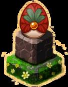 Sleighbell Pedestal