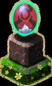Ghostly Oni Pedestal