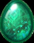 Emerald Dragon Egg
