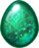 Emerald Dragon Egg