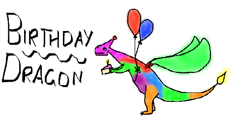 Birthday Dragon II