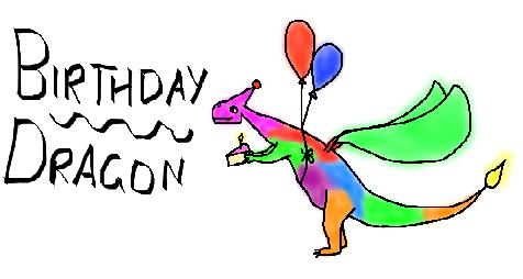 Birthday Dragon II