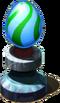 Lichen Pedestal