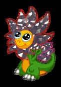 FlowerDragonMetalRiftBaby