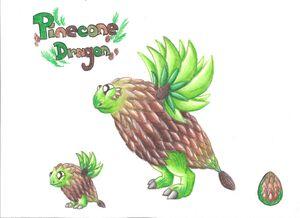 Pinecone Dragon