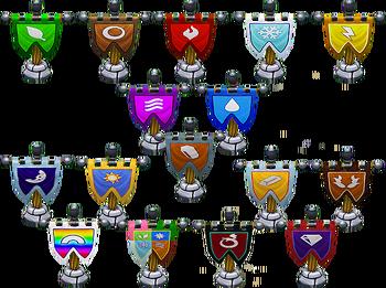 Elemental Flags