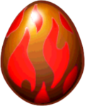 Obsidian Dragon Egg