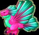 Tourmaline Dragon