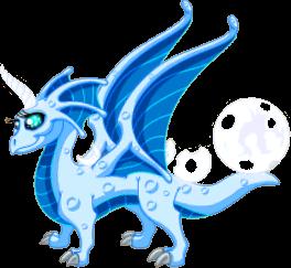 Blue Moon Dragon | DragonVale Wiki | FANDOM powered by Wikia