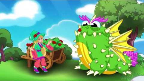DragonVale - Gardenia's Gathering of Roses