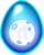 Blue Moon Dragon Egg