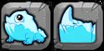 Glacier Dragon Icon