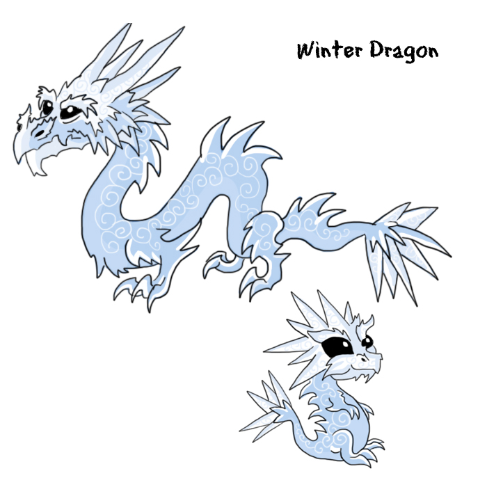 winter dragonjpg - Dragonvale Dragons Coloring Pages