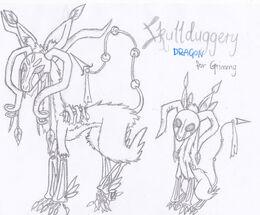 Skullduggery Dragon