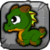 Forest Dragon Baby Icon