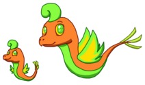 Color Dragon Baby & Adult
