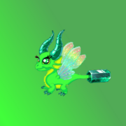 Emerald Dragon Awesome