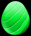 GreenEnchantedRainbowDragonEgg
