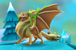 EnchantedTundraDragonAdult