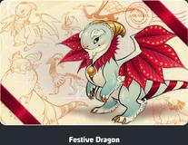 Festive Dragon