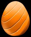 OrangeEnchantedRainbowDragonEgg
