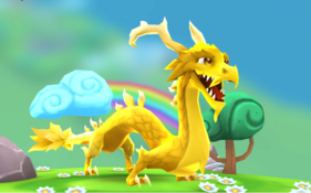 YellowEnchantedRainbowDragonAdult