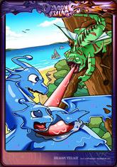 Card slime-chameleon