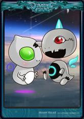 Card magenet-alien