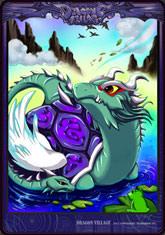 Card snake dragon