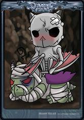 Card bone-mummy