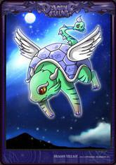 Card snake dragon2