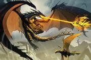 Tunguska war dragon