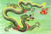 Chinese lung dragon