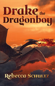 Drake the Dragon Boy cover PRINT front small