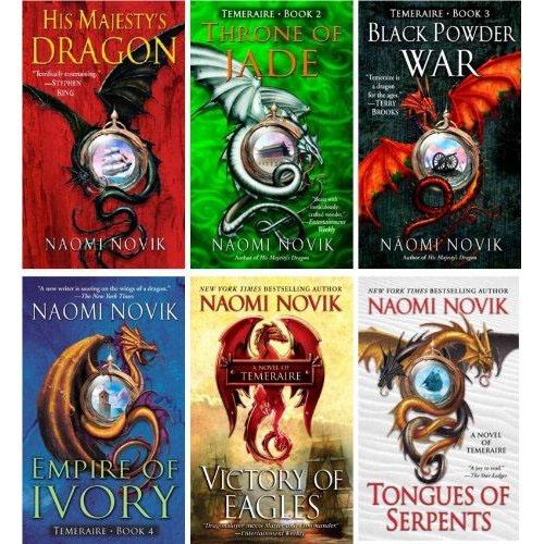 Temeraire books 1-6
