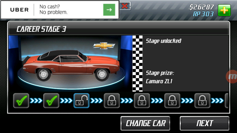 Chapter III - Career Stage 3 | Drag Racing Guide Wiki
