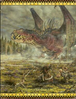 Drakar och Demoner Trudvang Cover