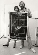 Gale Ann Hurd y James Cameron