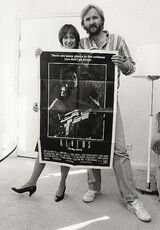 Gale Ann Hurd y James Cameron
