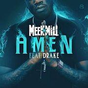 Meek mill amen cover