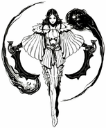 Arte conceptual de Arioch - Lord of Vermilion Re 2