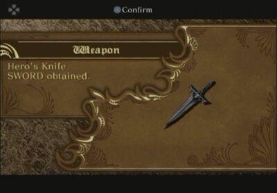 Hero's Knife