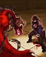 Arte oficial del pacto de Caim - Drakengard