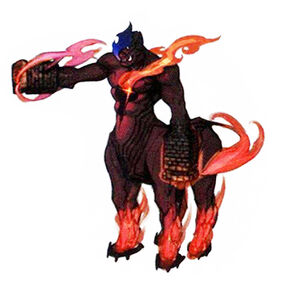 Flame Centaur